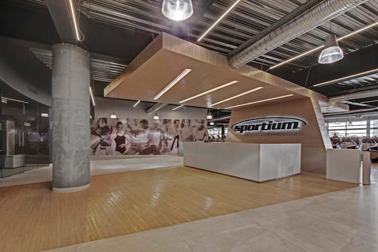 Gym by RIMA Arquitectura,
