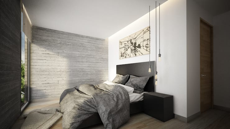 modern Bedroom by Sulkin Askenazi