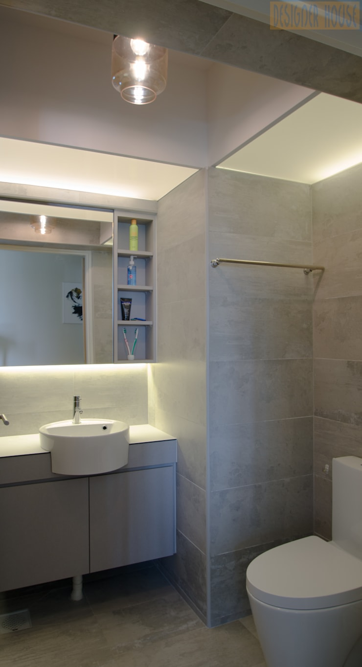 BTO Dawson Modern bathroom by Designer House Modern