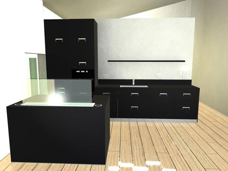 Il progetto tridimensionale: Cucina in stile  di STEFANIA ARREDA