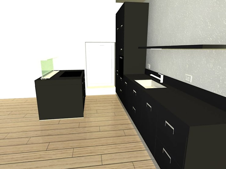 Progetto di una cucina Arclinea : Cucina in stile  di STEFANIA ARREDA