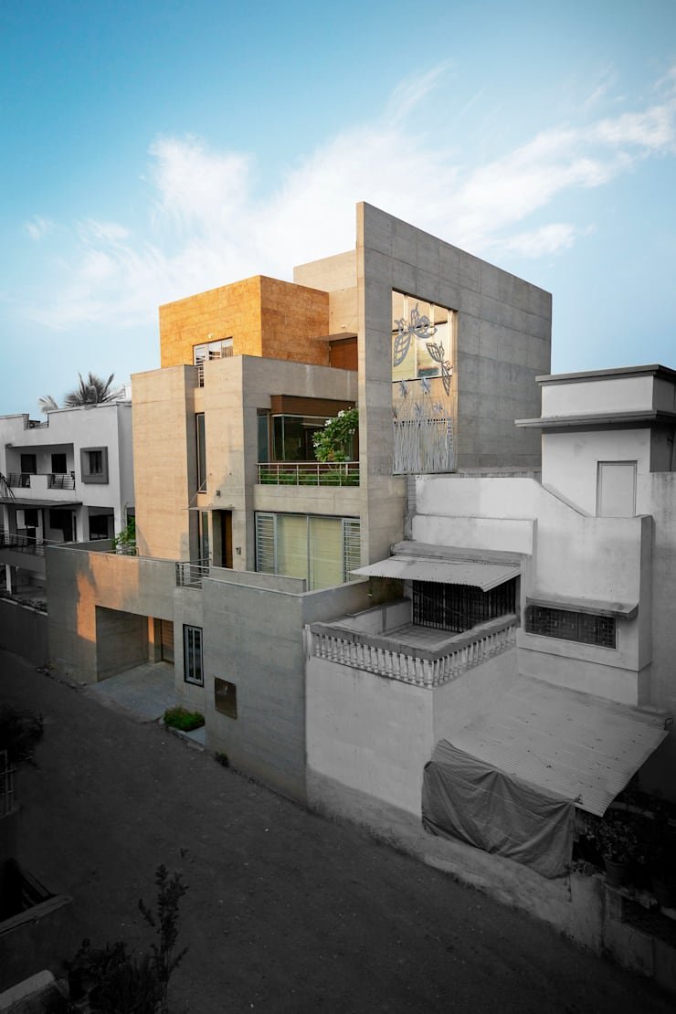 Contextual influence from NATURE: modern Houses by ESSTEAM