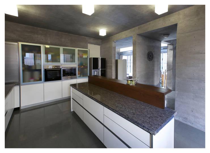Butterfly House: modern Kitchen by ESSTEAM