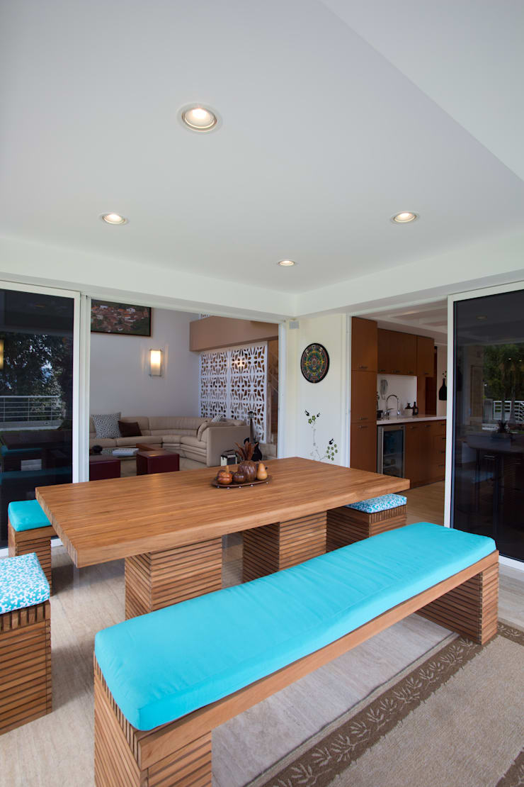 Vivienda 609: Terrazas de estilo  por Objetos DAC