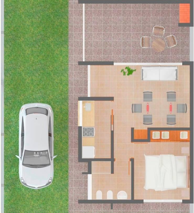 บ้านและที่อยู่อาศัย โดย Arq. Lucas Martín Lang,