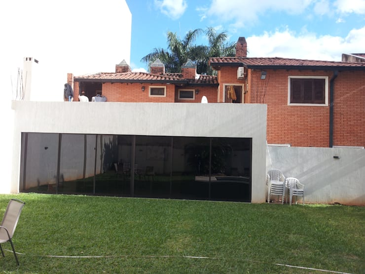 casa Asunción- Paraguay: Casas de estilo  por Arq.Rubén Orlando Sosa