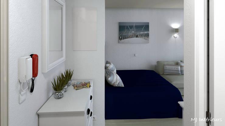 modern Bedroom by MJ Intérieurs