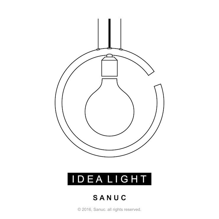IDEA LIGHT by SANUC: SANUC의  사무실 공간 & 가게