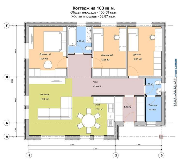 План этажа:  в . Автор – hq-design