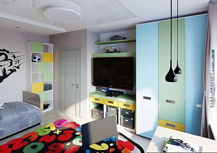 Cuartos infantiles de estilo moderno por hq-design