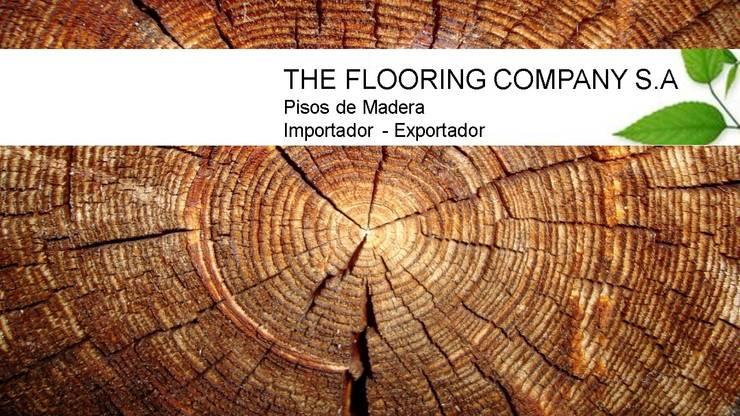 THE FLOORING COMPANY: Paredes y pisos de estilo  por THE FLOORING COMPANY S.A