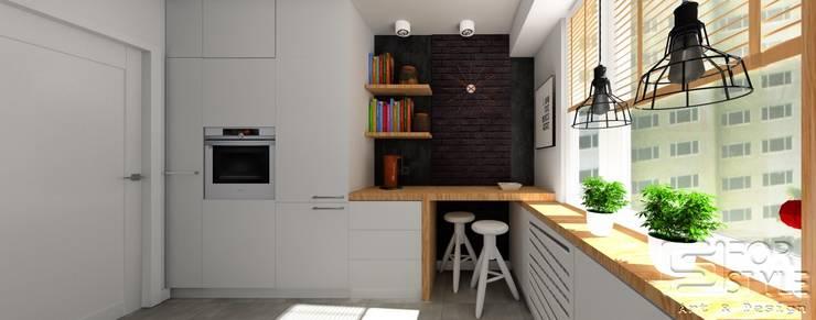 kuchnia: styl , w kategorii Kuchnia zaprojektowany przez 4-style Studio Projektowe Anna Molin