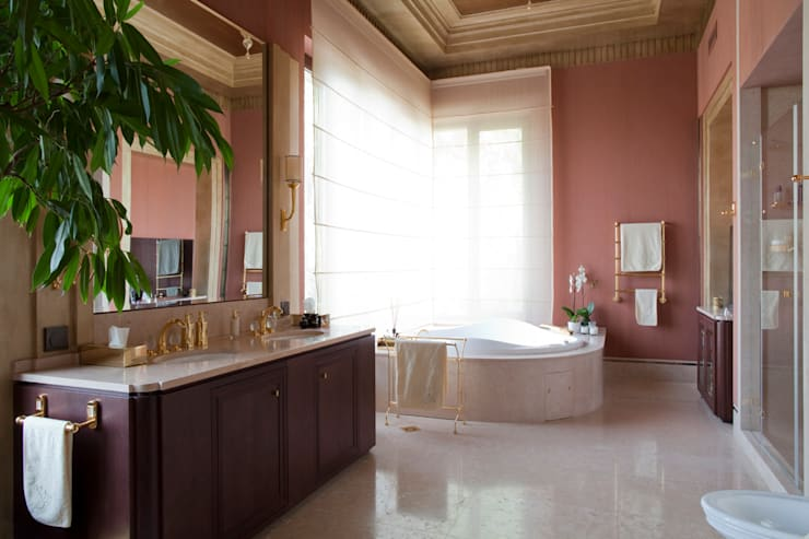 Banana House: Ванные комнаты в . Автор – FABER GROUP