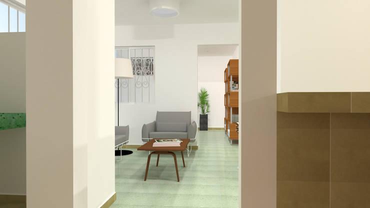 Sala de estar: Casas de estilo  por Ingenieros y Arquitectos Continentes