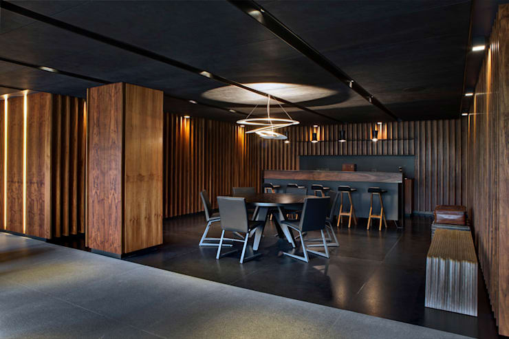 Dining room by RIMA Arquitectura, Modern Concrete