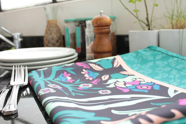 Mantel Turkey :  de estilo  por b-home,Ecléctico Textil Ámbar/Dorado