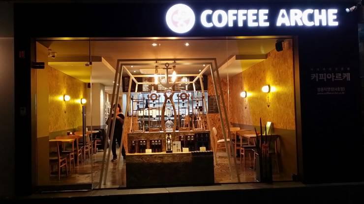 커피아르케 명동직영점: 디자인 컴퍼니 에스의