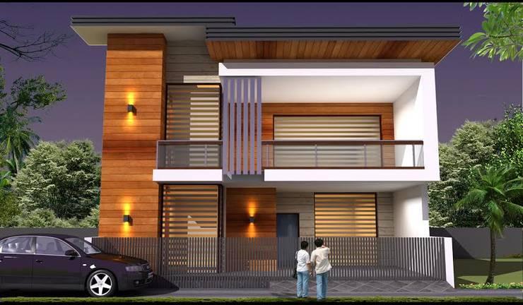 Casas de estilo  por RIDDEN INTERIO