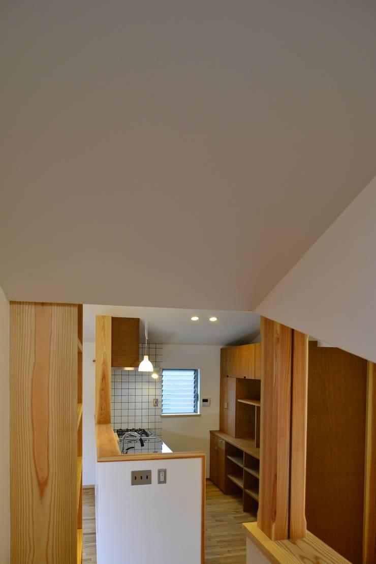 諸寄の家: シェド建築設計室が手掛けたキッチンです。