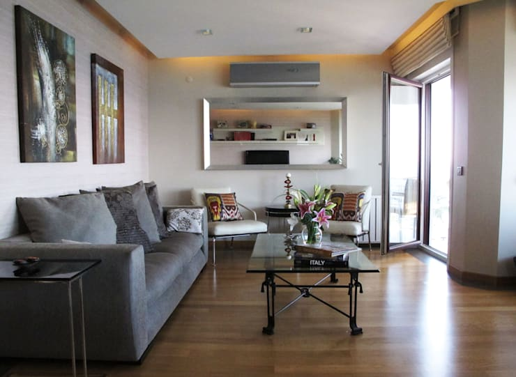 dga – Kınalıada'da bir Ev:  tarz Oturma Odası