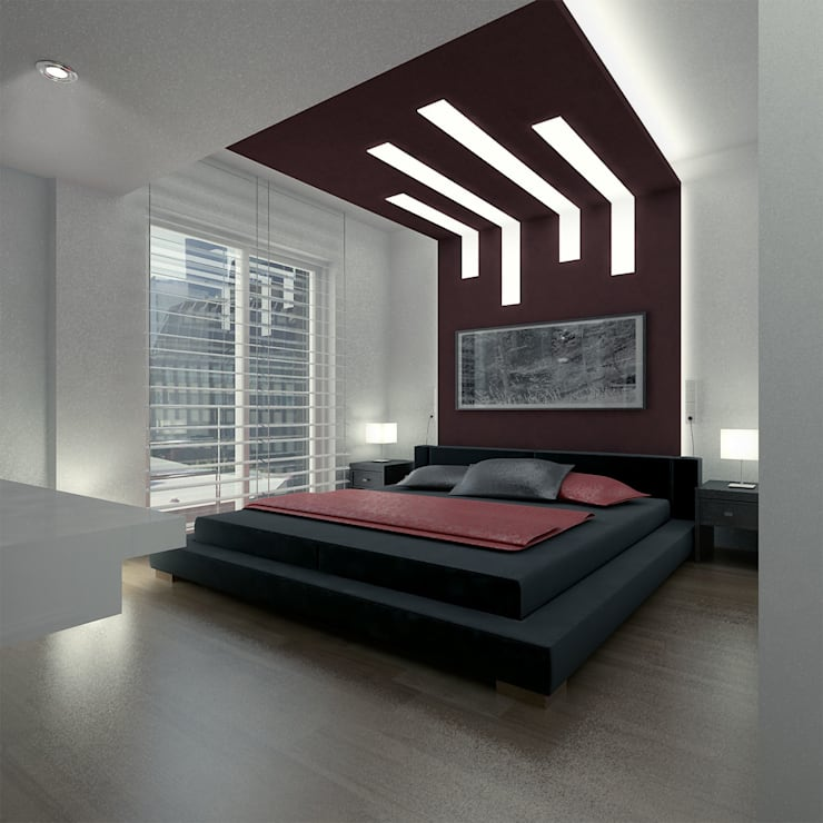 Bedroom by ARCHMY Mimarlık