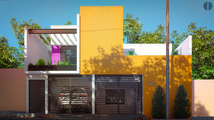 Houses by Laboratorio Mexicano de Arquitectura