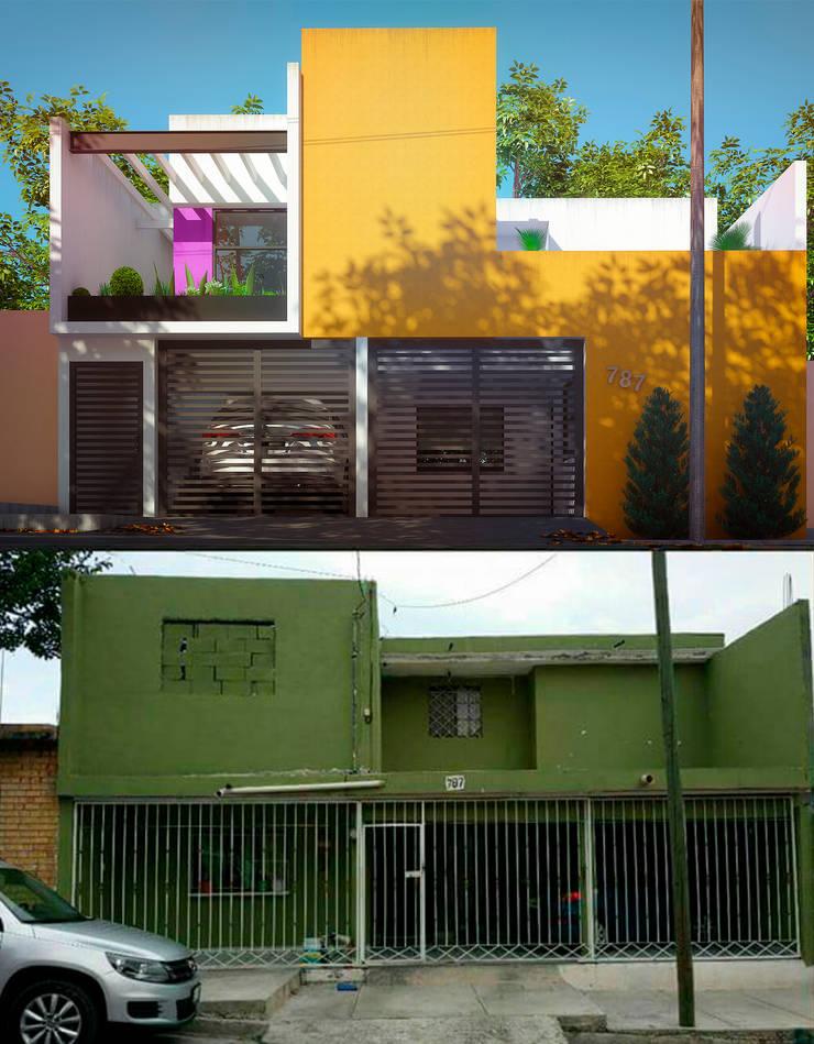 Casa Centenario de Laboratorio Mexicano de Arquitectura Minimalista