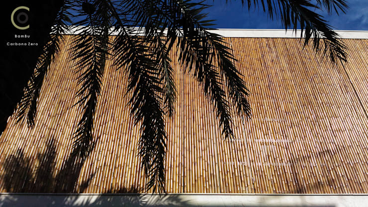 房子 by BAMBU CARBONO ZERO, 簡約風 竹 Green