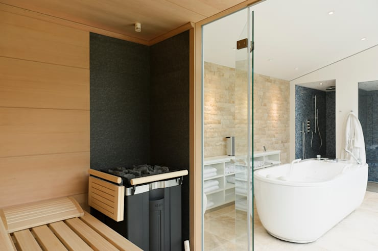 modern Spa by homify