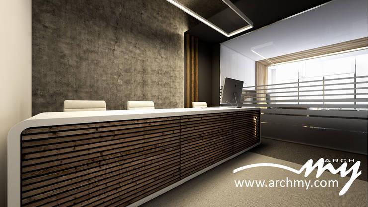 ARCHMY Mimarlık – Folkart Av. S-Y Ofis: modern tarz , Modern