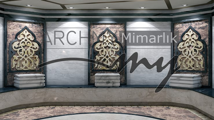 ARCHMY Mimarlık – Osmanlı Hamamı:  tarz , Klasik