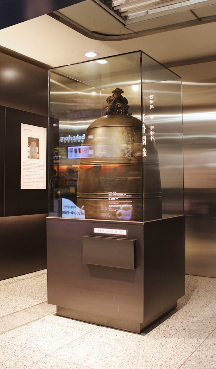 Bell Story_종각역: (주)팀웍디자인의  전시장