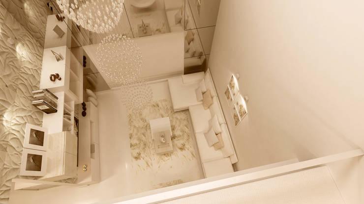 LIVING ROOM:   by De Panache  - Interior Architects