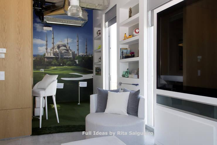 Sala Privada para CEO: Escritórios  por  Rita Salgueiro - Full Ideas