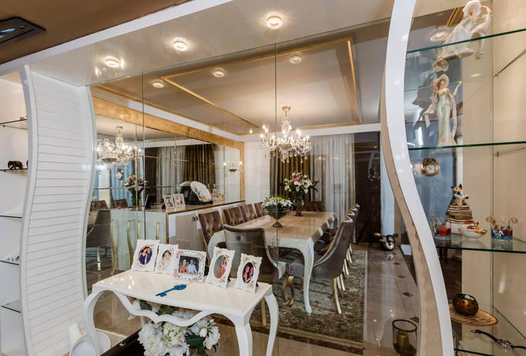 غرفة السفرة تنفيذ Mimoza Mimarlık