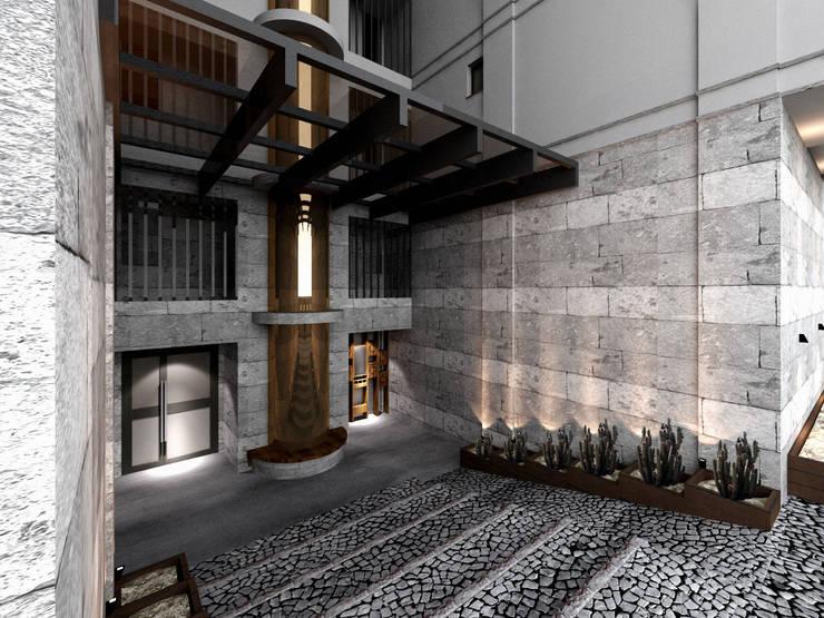 Mimoza Mimarlık – KAPLAN RESIDENCE: modern tarz Evler