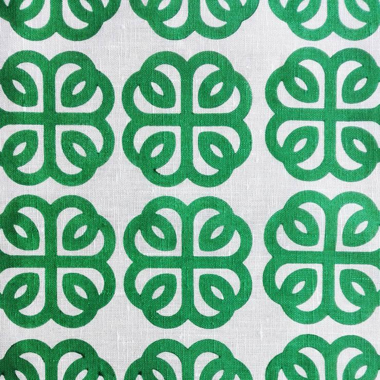 Padrão Lucky Charm na cor Spanish Green: Casa  por Pandan Studio