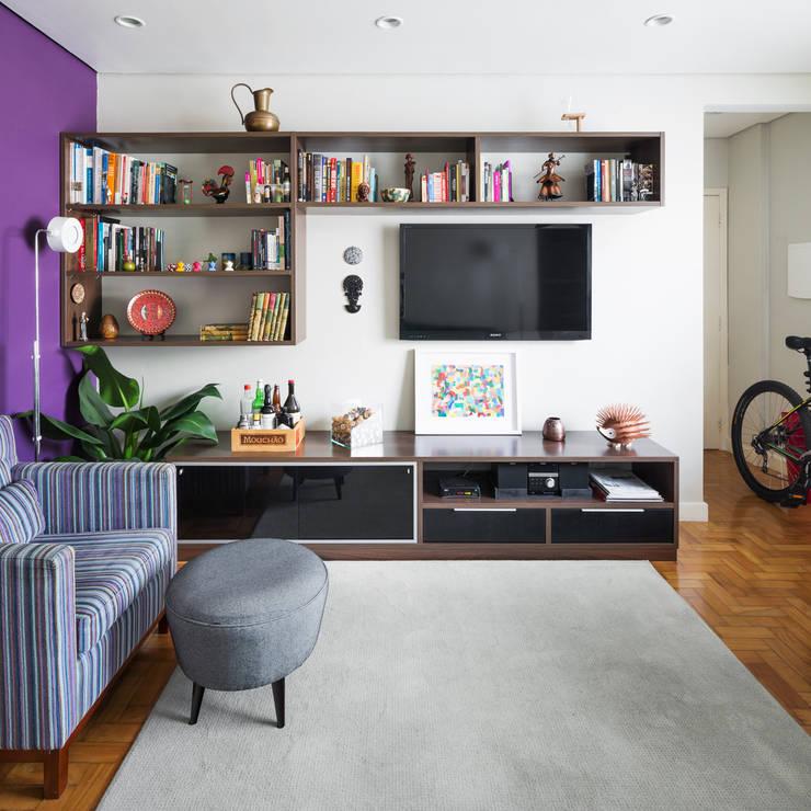 Гостиная в . Автор – Alvorada Arquitetos