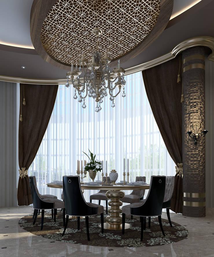 Mimoza Mimarlık – VILLA ZARBIANUS -IRAK:  tarz Yemek Odası