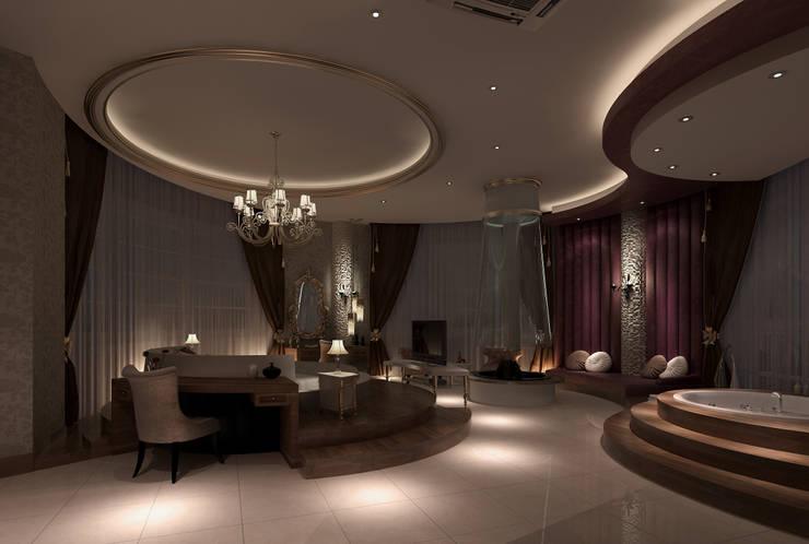 Projekty,  Sypialnia zaprojektowane przez Mimoza Mimarlık
