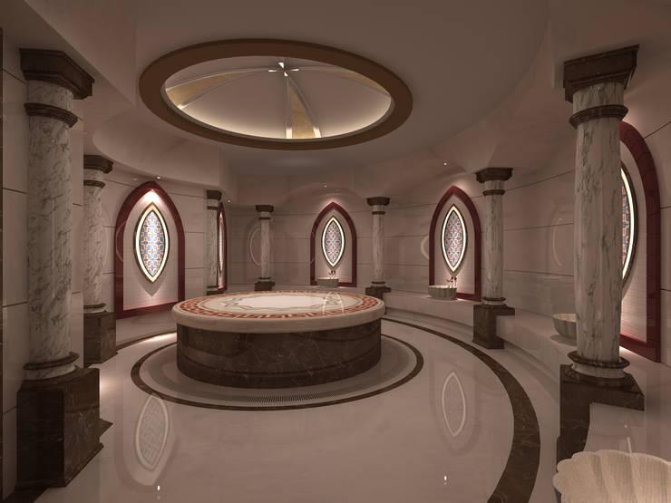 Projekty,  Łazienka zaprojektowane przez Mimoza Mimarlık