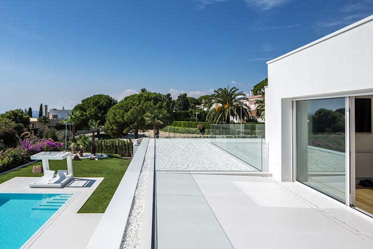 Projekty,  Taras zaprojektowane przez Simon Garcia | arqfoto