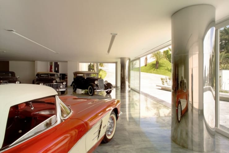 Garage/shed by Lanza Arquitetos