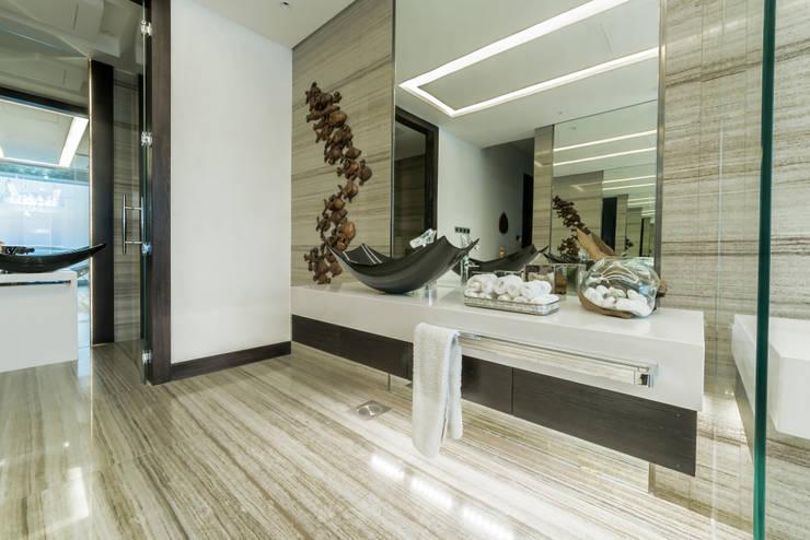 غرفة نوم تنفيذ XYZ Designers