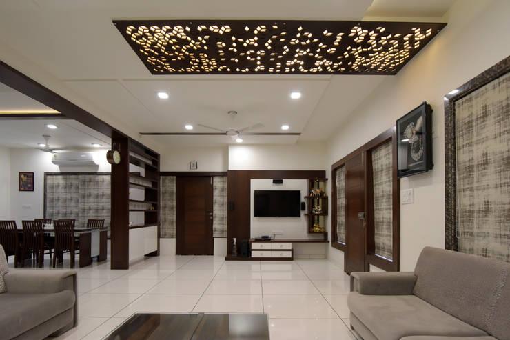 Living Room Furniture :  Living room by KRUTI