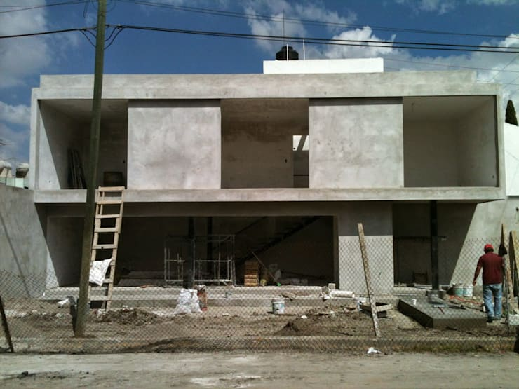 Low Cost Concrete Frame
