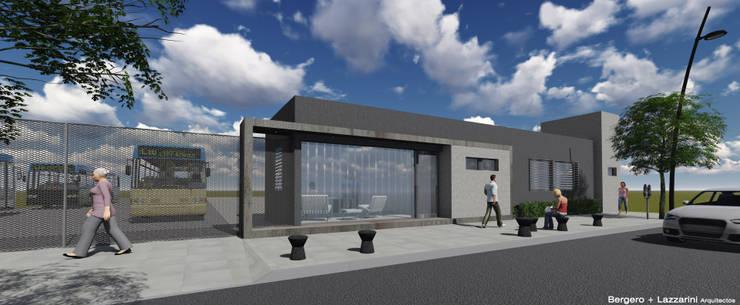 Oficinas Dirección de Transporte Municipalidad de San Francisco:  de estilo  por Raizar Arquitectura y Paisajismo