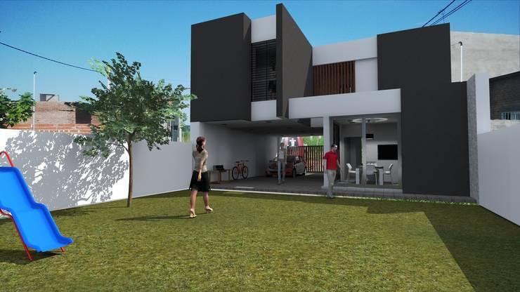 vista posterior:  de estilo  por VHA Arquitectura