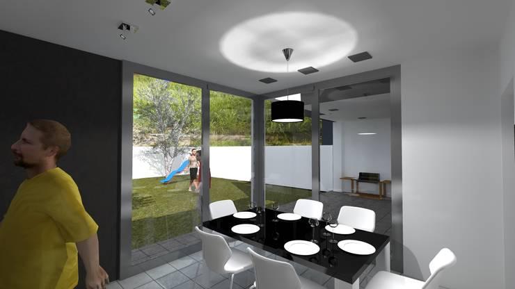 cocina-comedor:  de estilo  por VHA Arquitectura