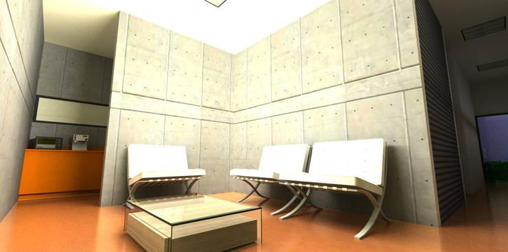 Show Room Hera Apparel: Estudios y oficinas de estilo  por CCA|arquitectos